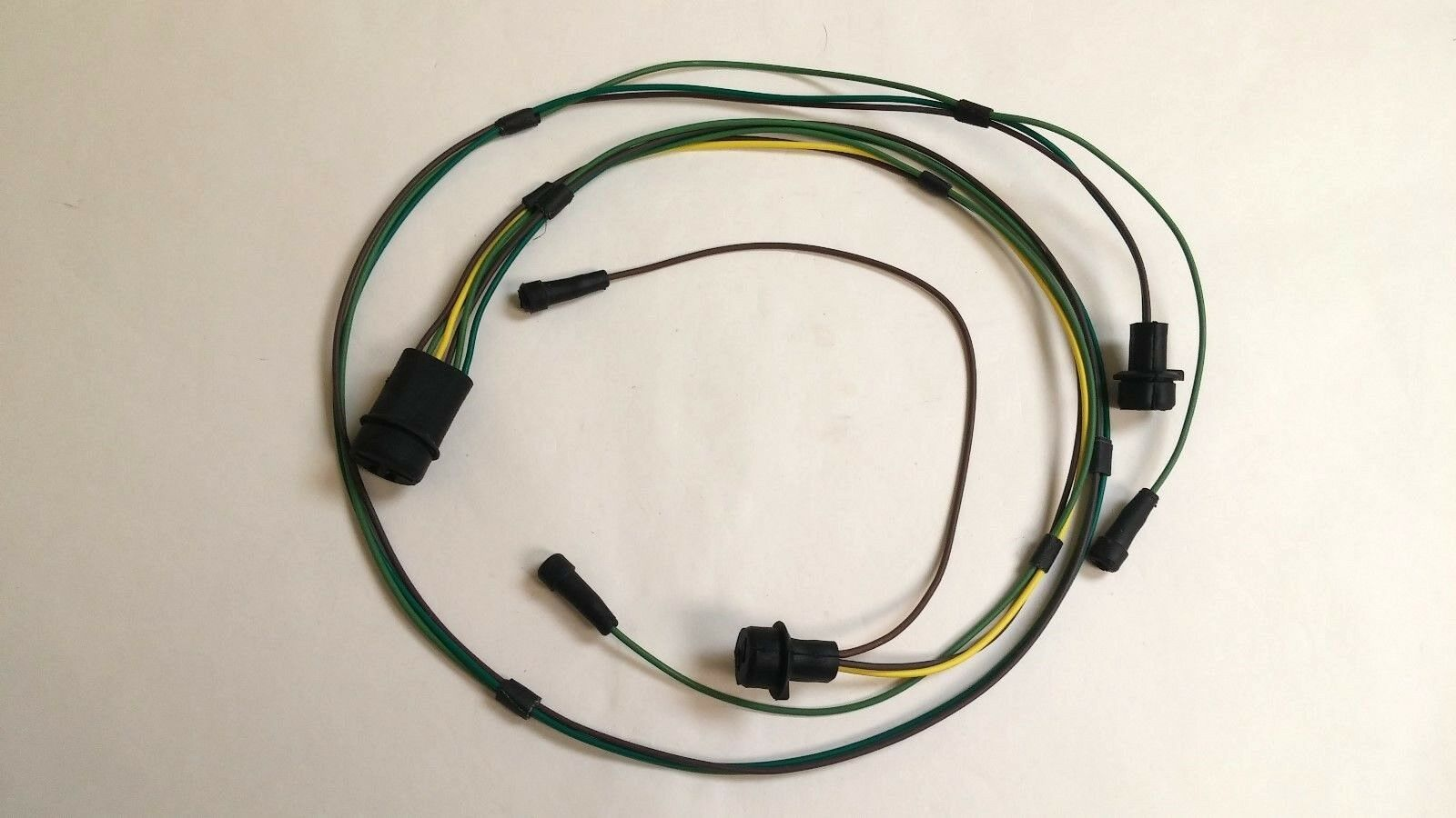 1 of 5Only 2 available 1967 Chevy Pick Up Truck Stepside Rear Body Light Wiring  Harness Frame ...