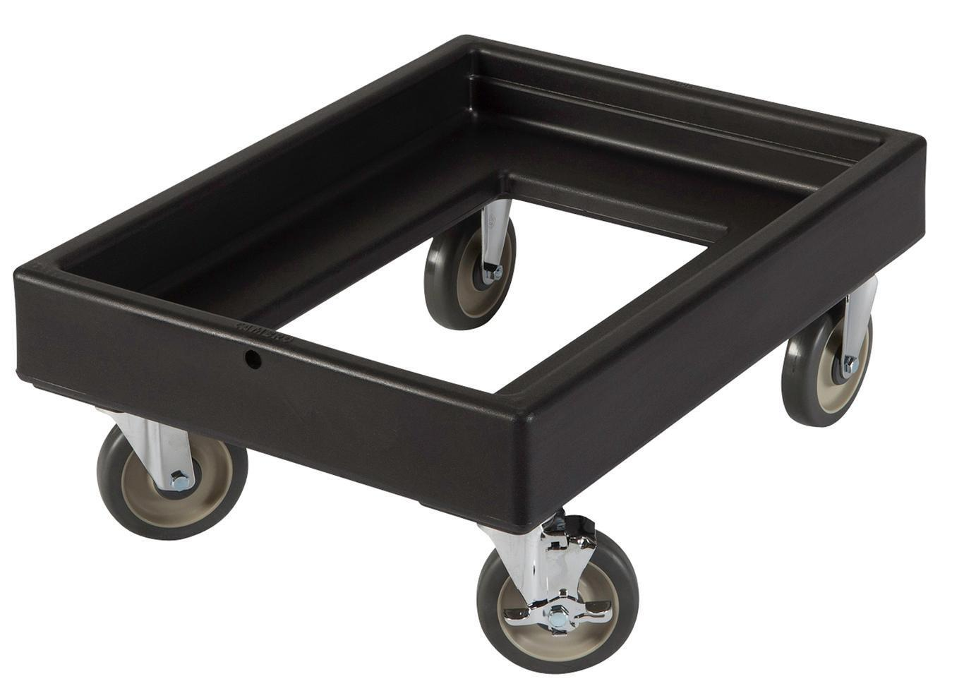 Cambro CD300110 Food Carrier Dolly Black NSF