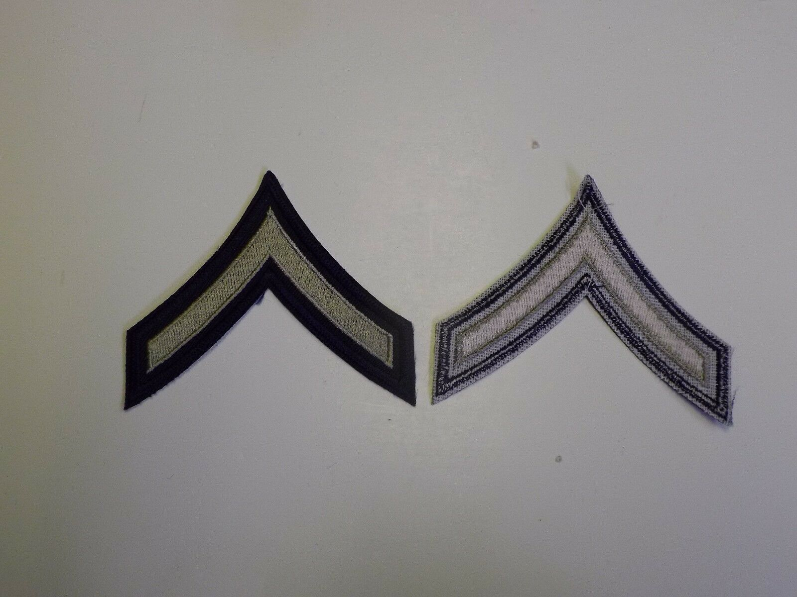 1000P WW2 US Army & Air Force Rank Chevron PFC Private First cls