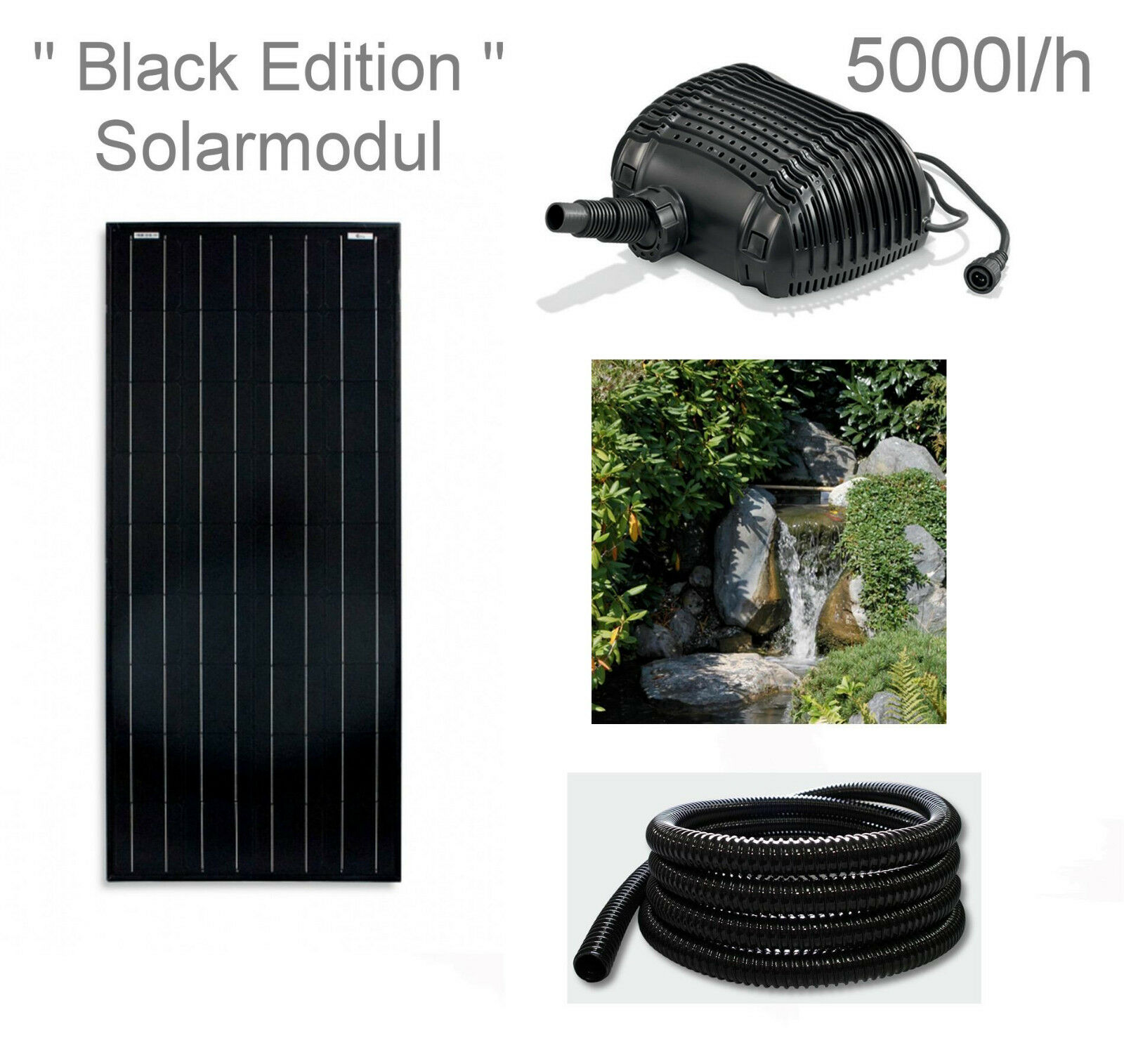 100w solar teichpumpe bachlaufpumpe filter tauch pumpe. Black Bedroom Furniture Sets. Home Design Ideas