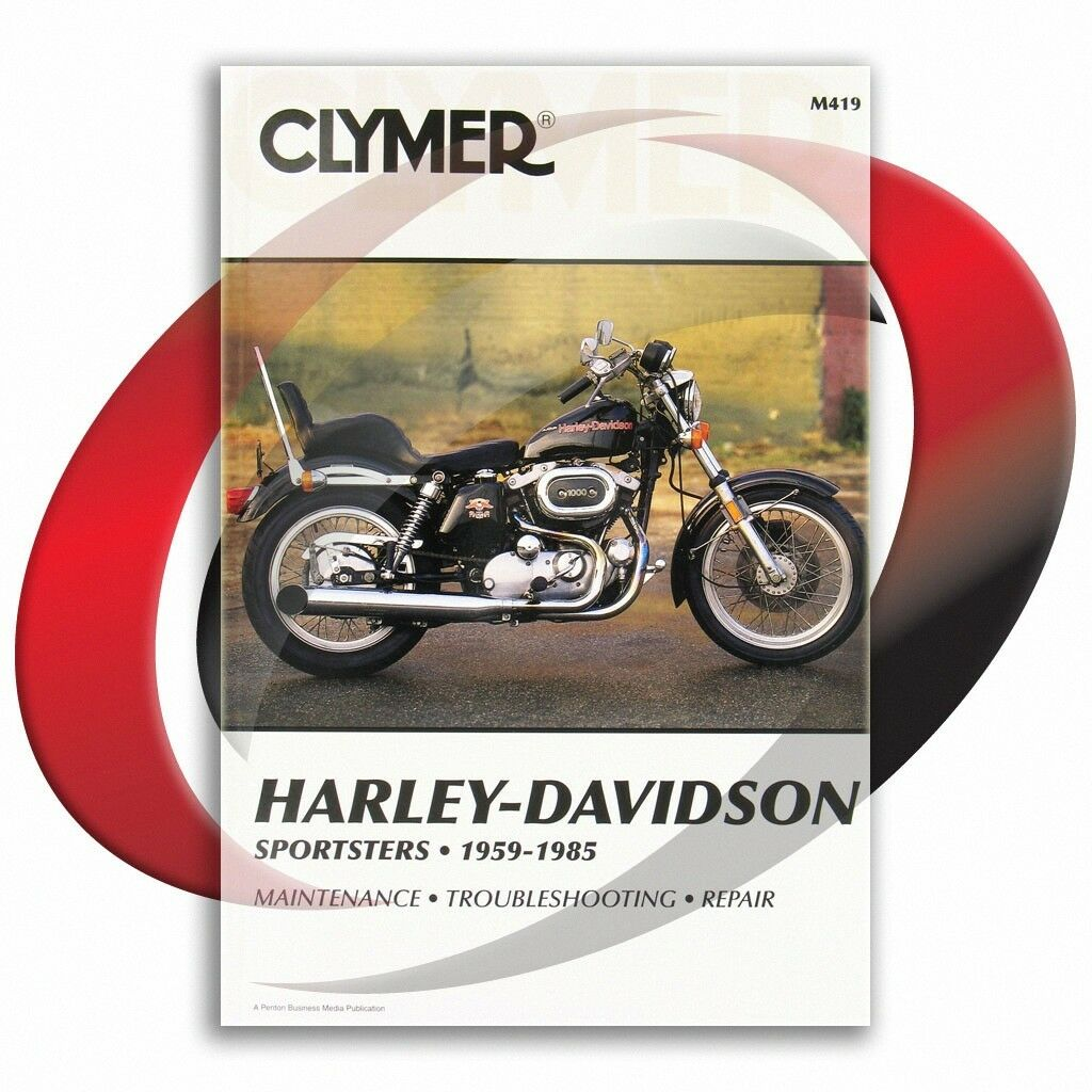 ... Harley Davidson XL Sportster Repair Manual Clymer M419 Service Shop 1  of 4Only 4 available ...