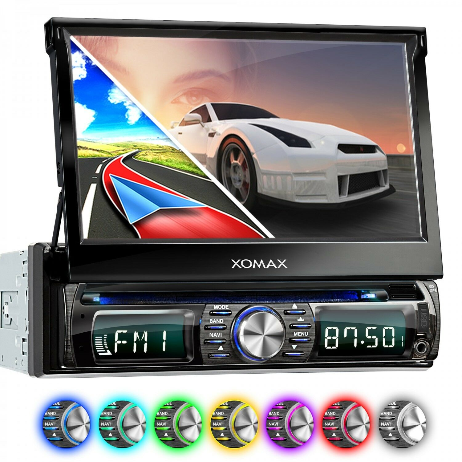 autoradio mit dvd cd navigation navi gps bluetooth 7