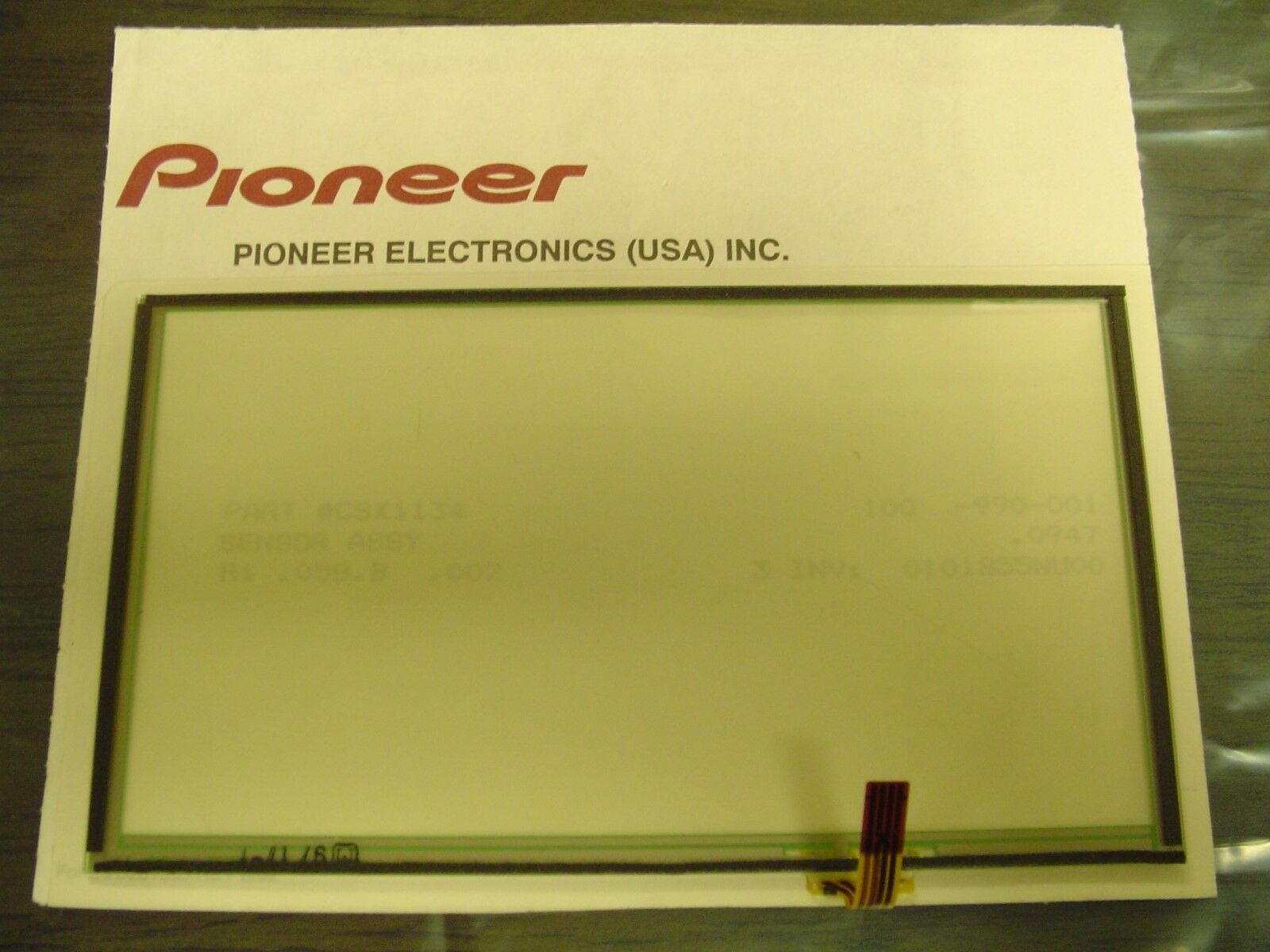 Pioneer Avic F700bt F7010bt F90bt Touchscreen Touchpad D3 Bypass 1 Of 1only Available
