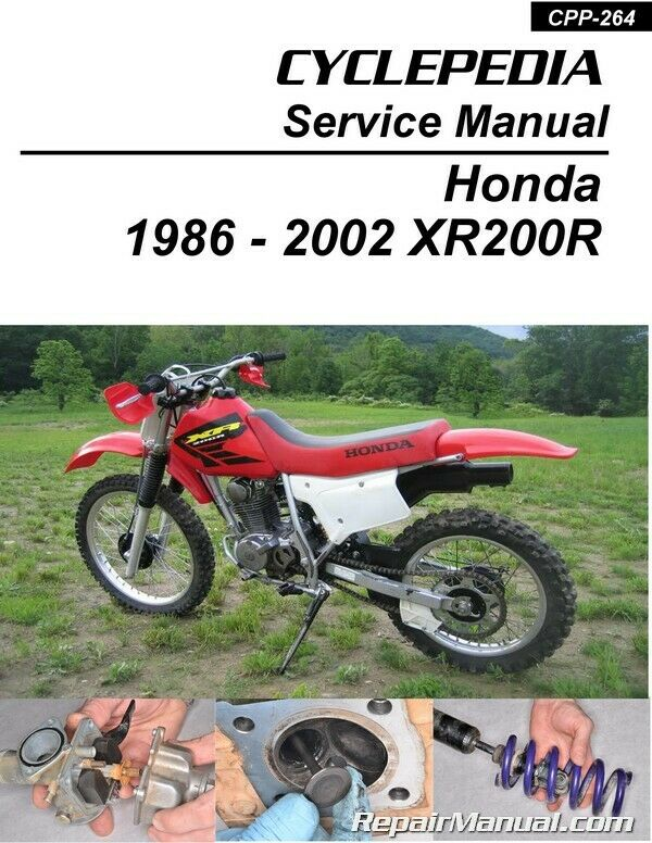 1983 honda xr200 manual user guide manual that easy to read honda xr200 cyclepedia printed motorcycle service manual 40 74 rh picclick com 1983 honda xr200r manual publicscrutiny Choice Image