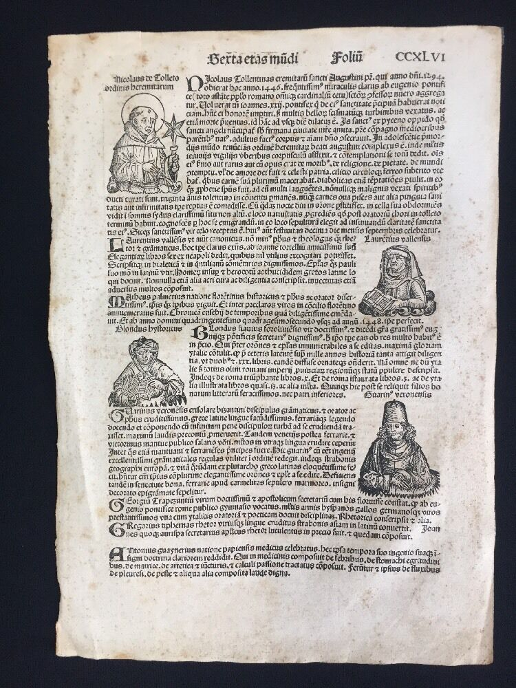 nuremberg latin singles The nuremberg chronicle, nuremberg 1493 in may of 1493 appeared in the latin language one of the earliest voluminous books, fully illustrated with 1809 woodcuts printed from 645 woodblocks: the nuremberg chronicle.