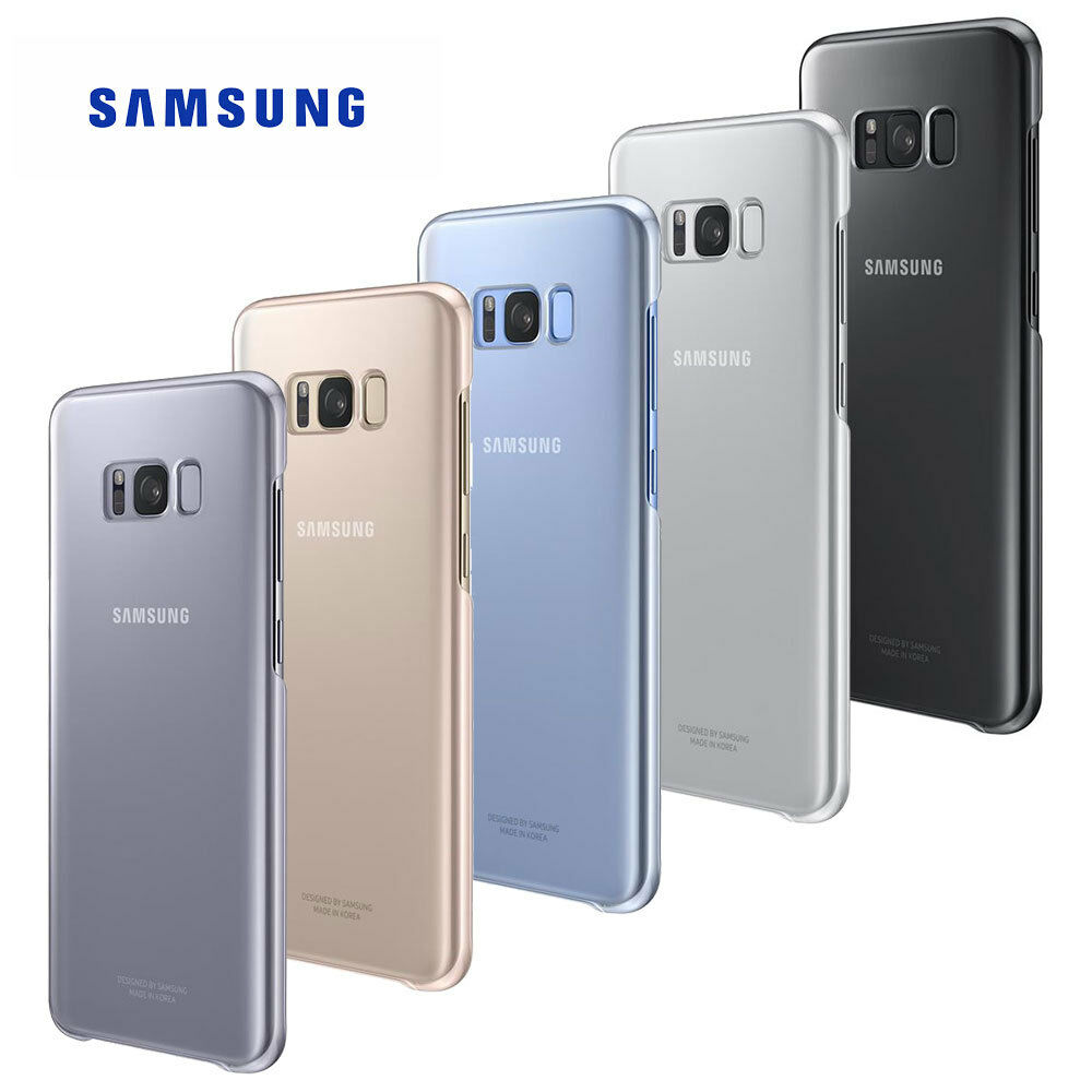 genuine official samsung clear cover case for galaxy s8. Black Bedroom Furniture Sets. Home Design Ideas