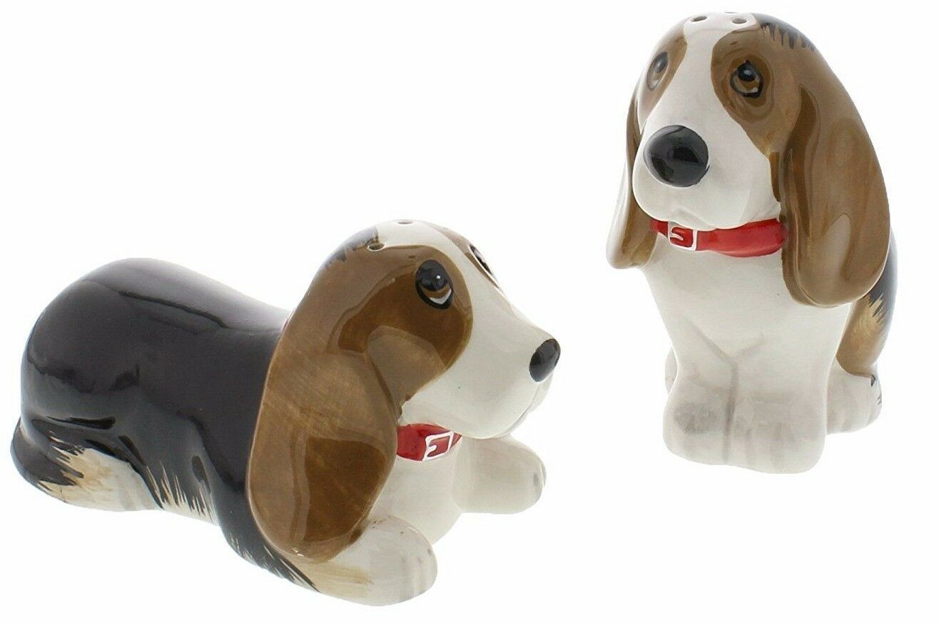 dog salt and pepper shakers