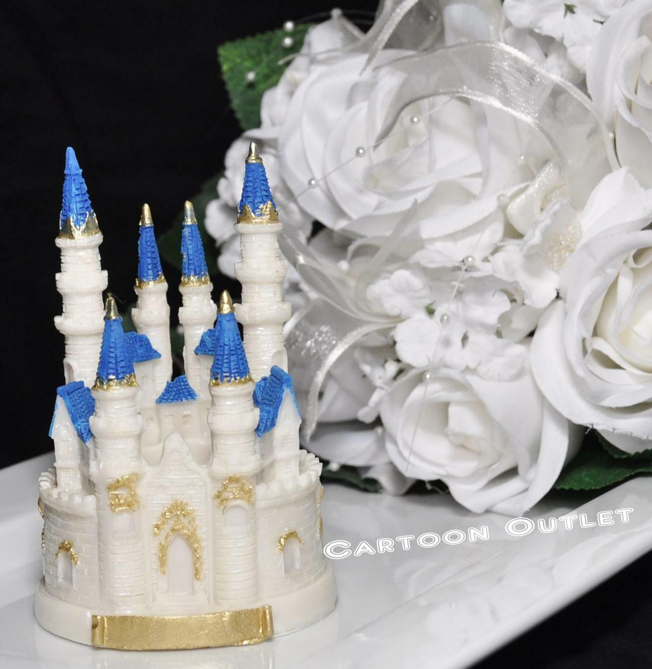 Castle Cake Topper Quinceanera Sweet 16 Princess Birthday Party 45