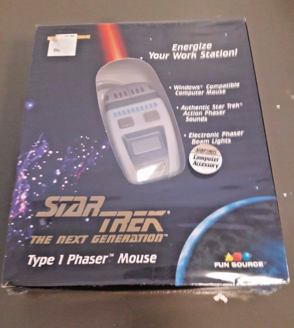 star trek next generation type 1 phaser mouse phaser action sounds
