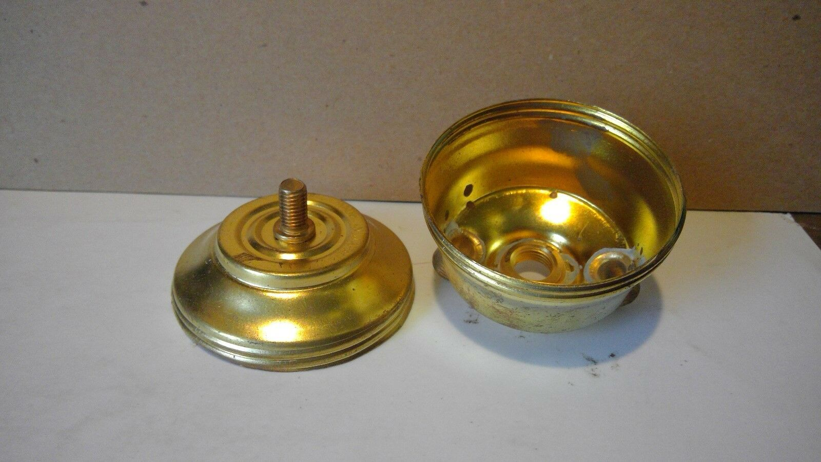 2 Socket Light Electric Table Lamp Brass Cluster 1 8in Base Threads Rewiring A Two Of See More