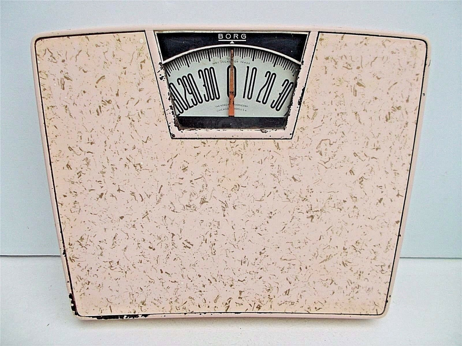 Borg bathroom scale - Vintage Light Pink Gold Flecked Bathroom Scale Borg 1950s 60s Mid Century Modern 30 34 Vintage Light Pink Gold Flecked Bathroom Scale Borg 1950s 60s Mid