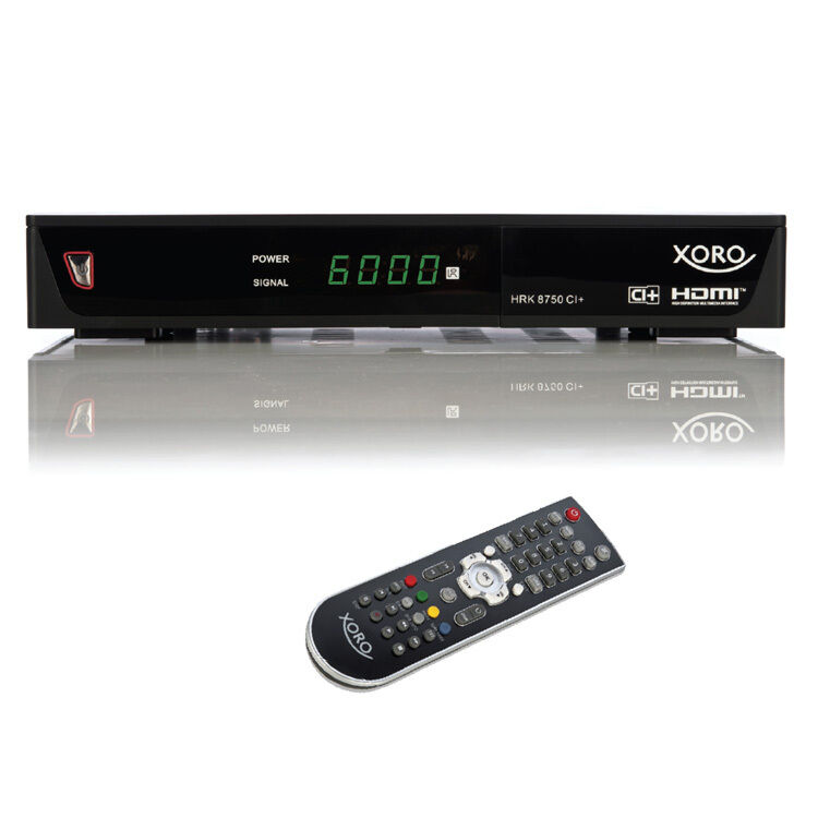 kabel receiver hd dvb c ci hdmi scart pvr xoro hrk 8750. Black Bedroom Furniture Sets. Home Design Ideas