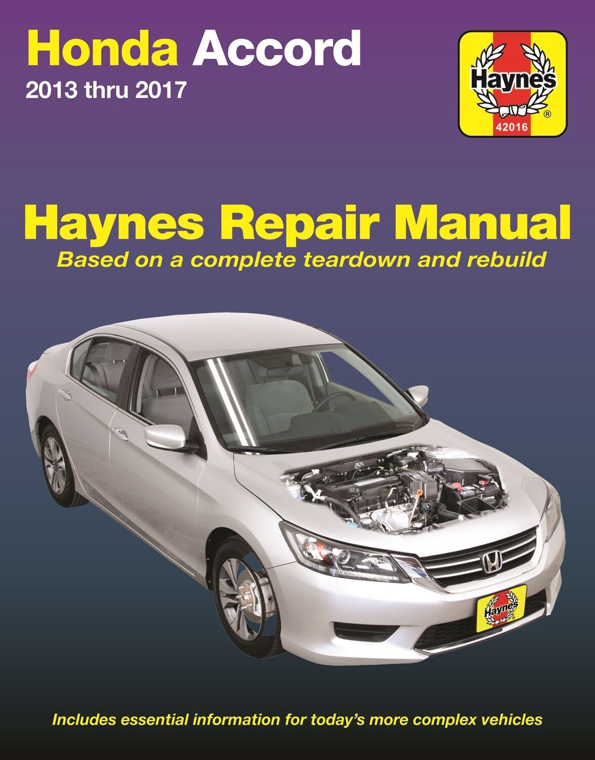 2013 2017 honda accord haynes repair service workshop manual rh picclick  com 2000 Honda Accord Repair Manual 2013 Honda Accord Owners Manual
