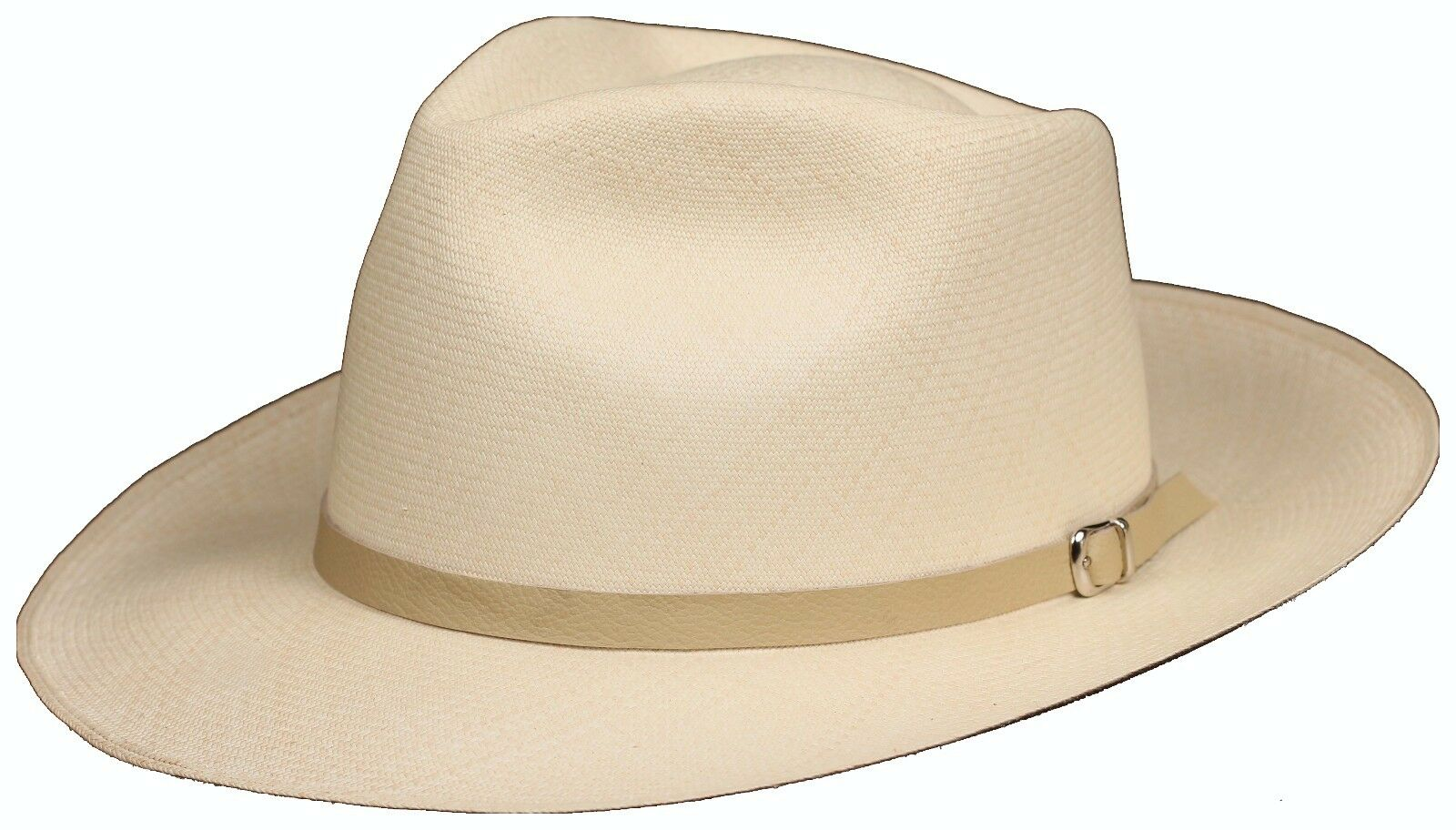 Leather Hat band 92 - Cream- Men Ladies Sun Panama Hat fedora Replacement  strap 1 of 3 ... 4599ad96e52d