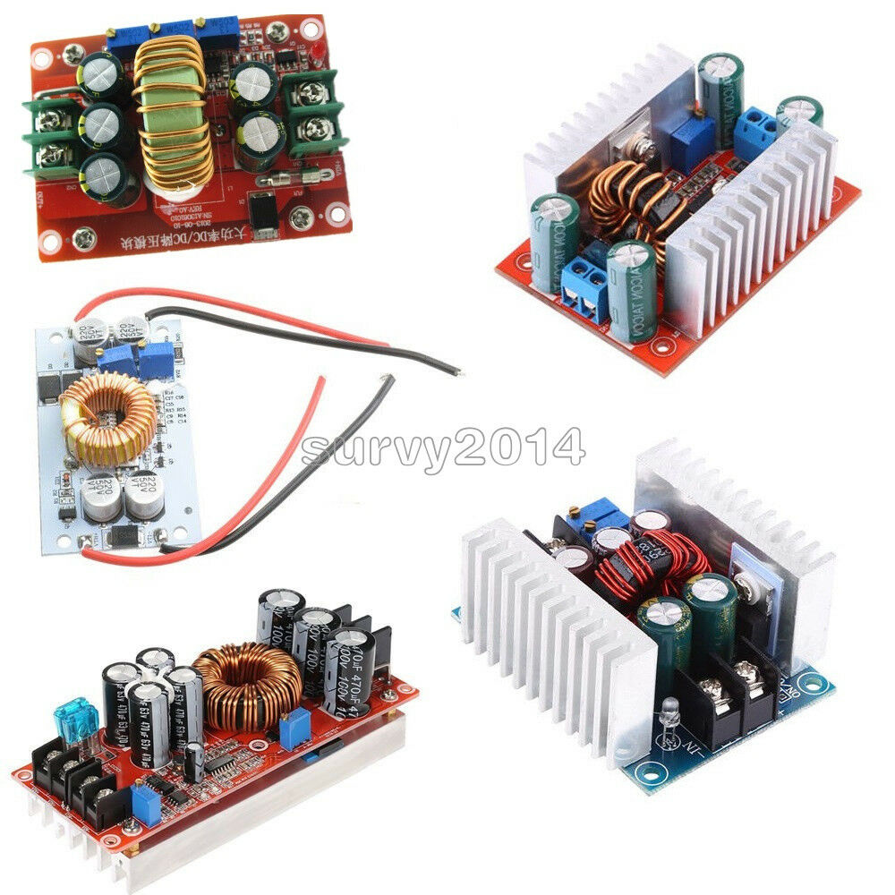 Dc Converter 10 12 15 20a 150 250 300 400 1200w Step Up Down Protection Circuit Module Pcb For 37v Of Liion Battery Limit 1 9 See More