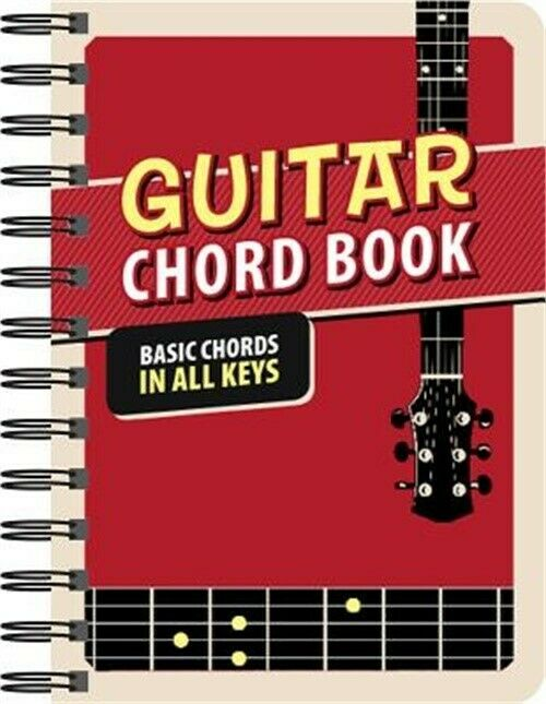 Guitar Chord Book Basic Chords In All Keys Spiral Bound Comb Or