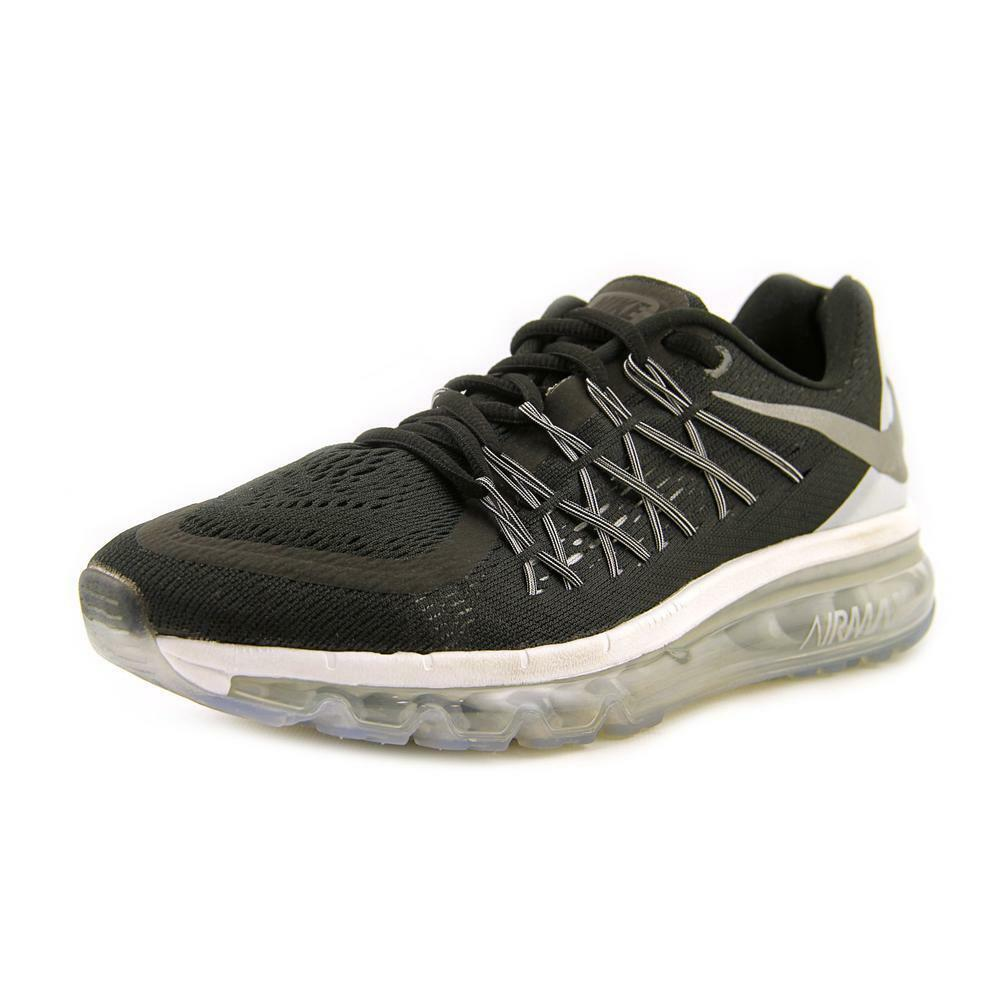 nike air max 2015 women round toe synthetic black running. Black Bedroom Furniture Sets. Home Design Ideas