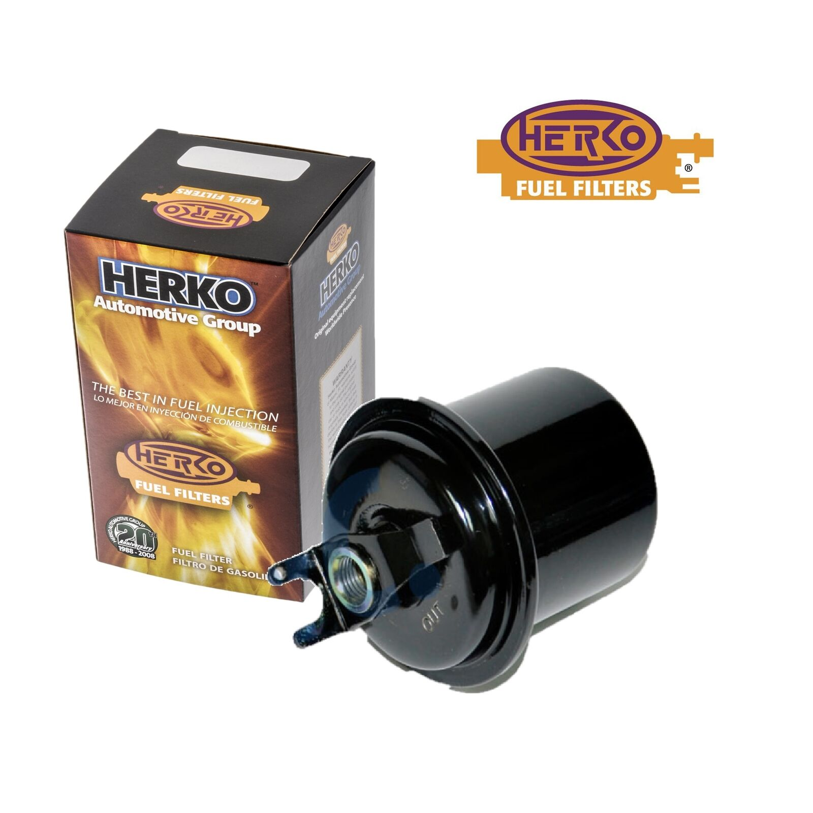 New Herko Fuel Filter Fih05 For Acura Honda Isuzu 1994 2001 849 Filters 1 Of 5 See More