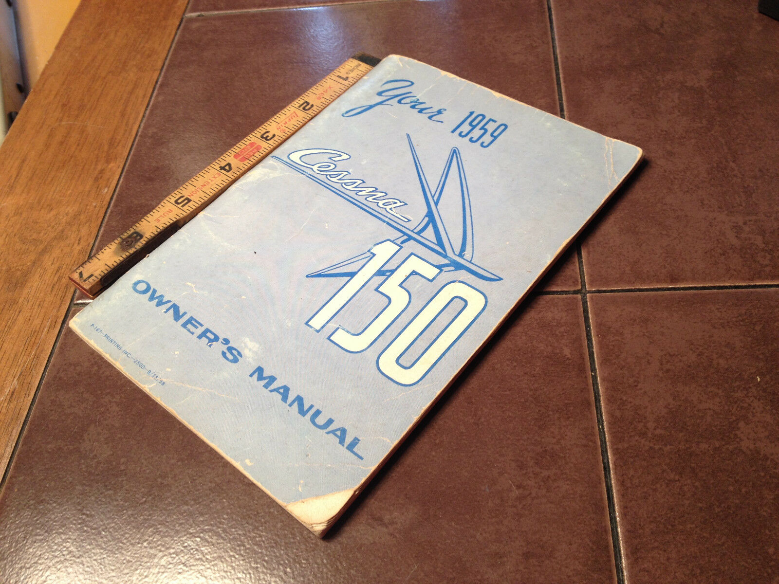 1959 Cessna 150 Owner's Manual 1 of 12Only 1 available ...