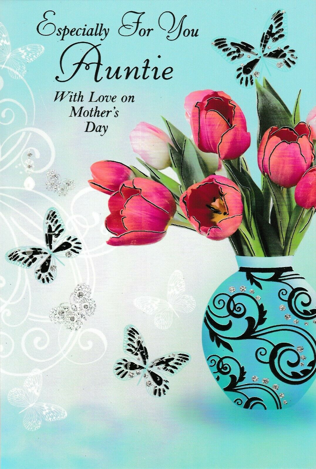 traditional auntie happy mother s day card choose from 2 x mothers