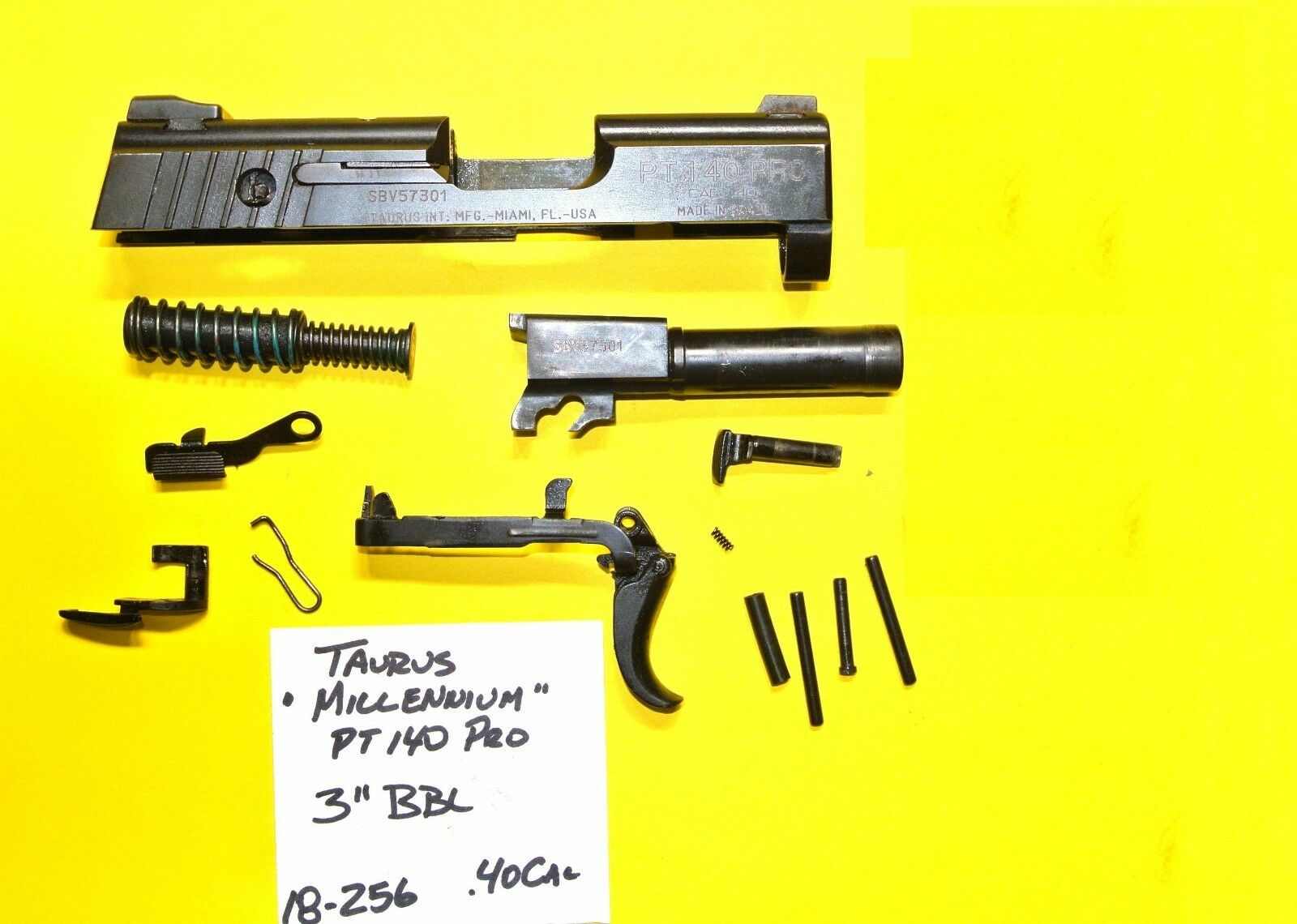 Taurus Gun Replacement Parts 25 Acp Schematic Pro Lot All Pictured One Price 1600x1140