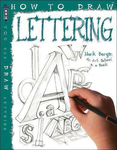 How to draw creative hand lettering by mark bergin for How to draw lettering book
