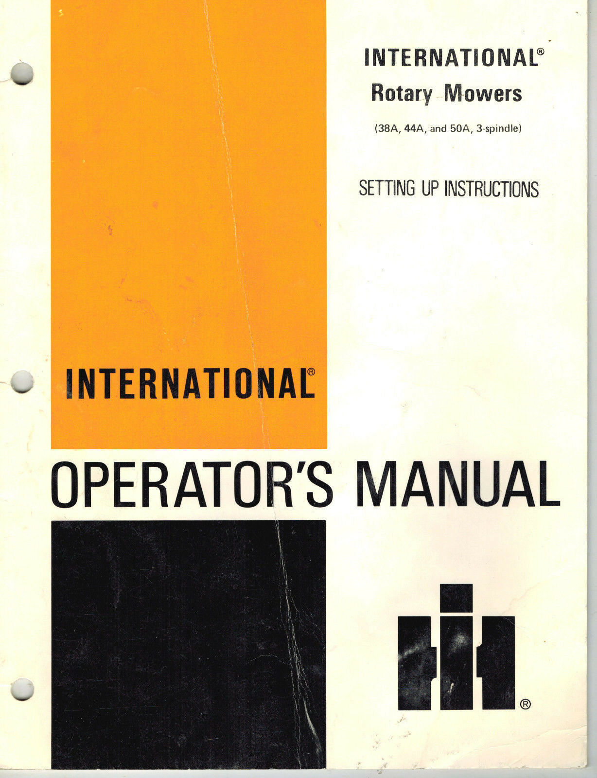 International Cub Cadet 38A 44A 48A Rotary Mower Operator's Manual 1 of  4Only 1 available See More