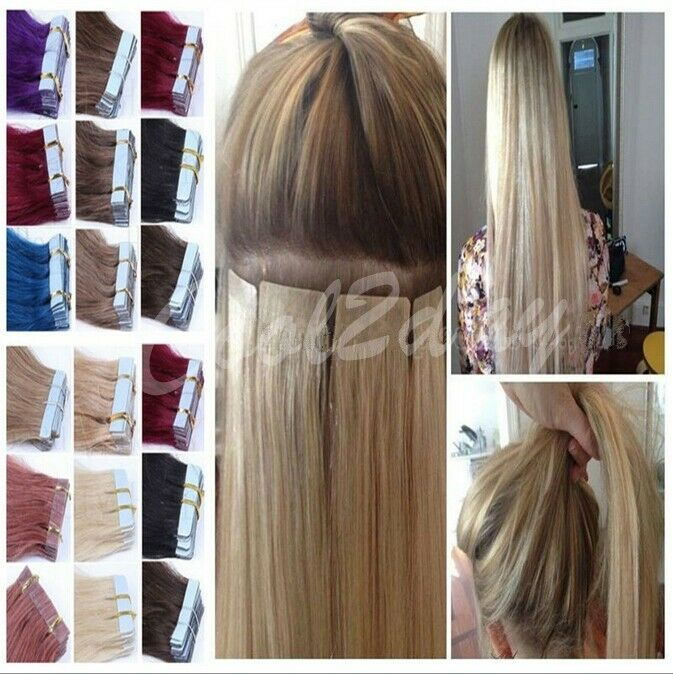 8a 20pcs 16 26inch Pu Skin Weft Tape In Ombre T 100 Remy Human Hair
