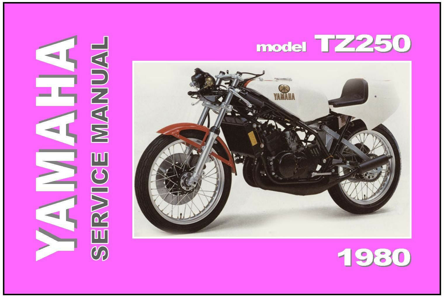 YAMAHA Workshop Manual TZ250 TZ250G 1980 Service Repair Maintenance Tuning 1  of 4Only 1 available ...