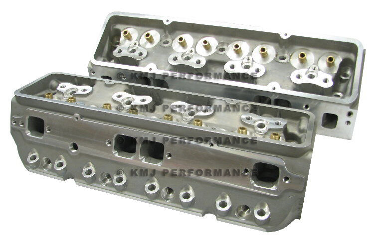 SBC Chevy GM Aluminum Cylinder Heads Bare 210cc 64cc