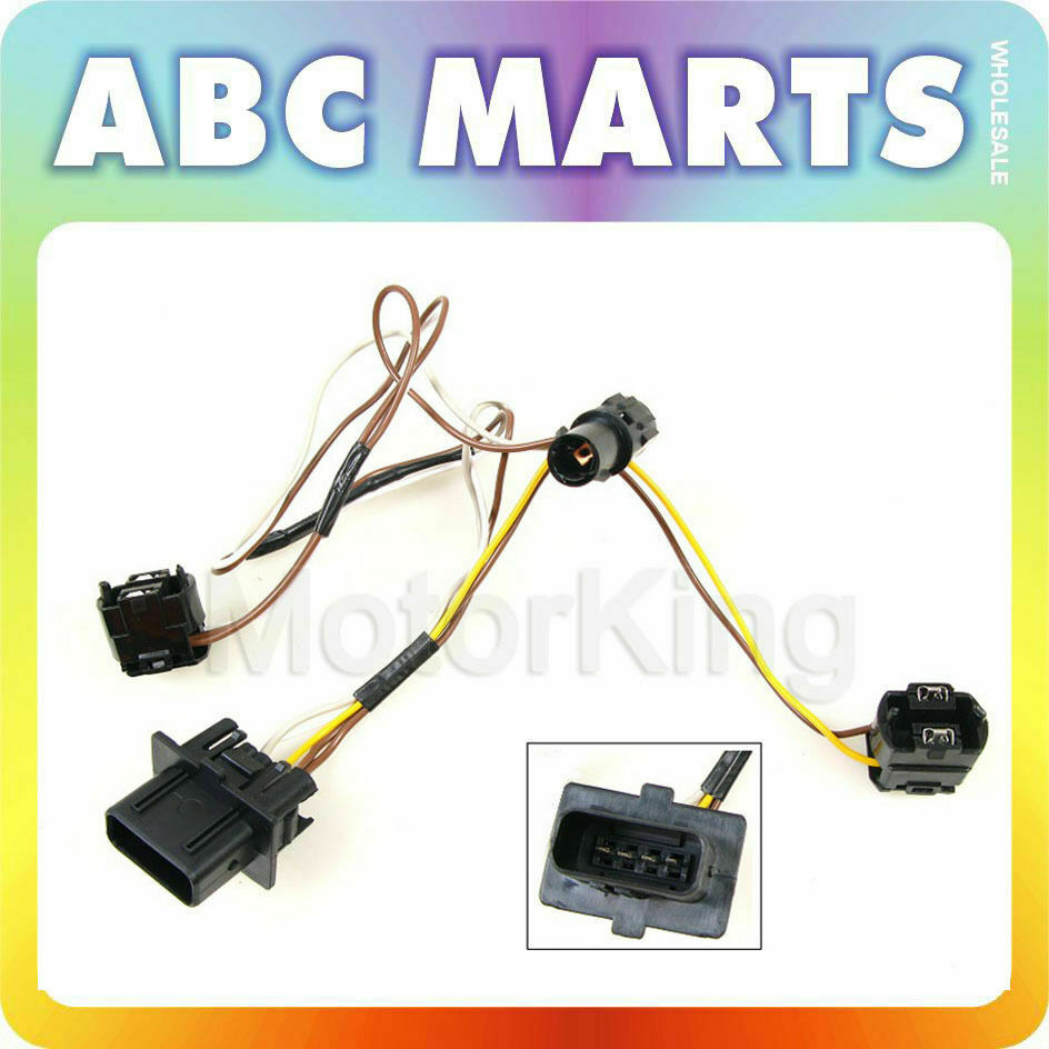 Wiring Harness Connector Repair Diagrams Wire 96 00 For Mercedes Benz E320 Headlight Rh Picclick Com Car Trailer Connectors