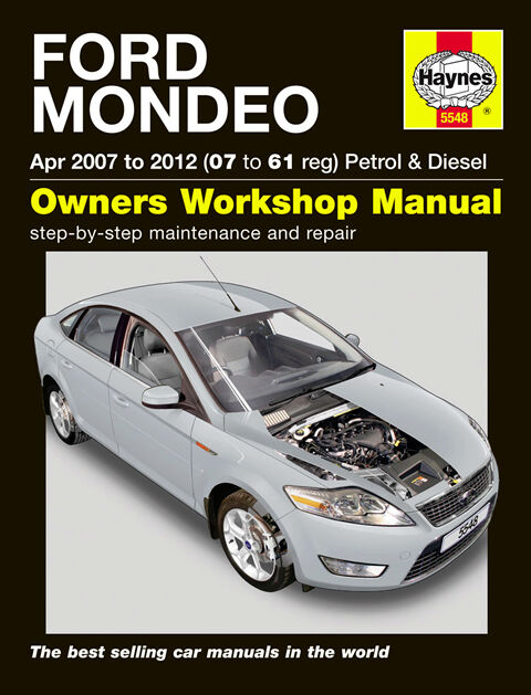 haynes workshop repair owners manual ford mondeo petrol diesel 07 rh picclick co uk Immunization TD 1 TD1 Bike