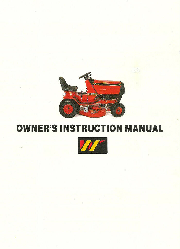 owners instruction manual westwood 88  gt  93 s800 s1100 T1600 Hotas westwood t1600 repair manual