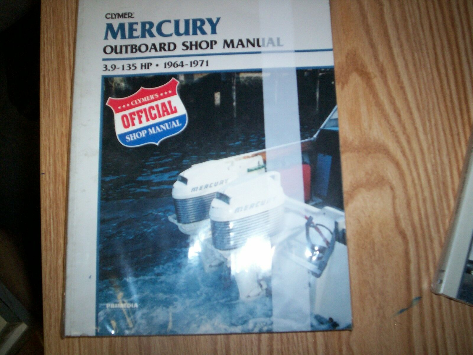 Clymer Mercury Outboard Shop Manual 3.9-135hp 1964-1971 B719 1 of 1Only 3  available ...