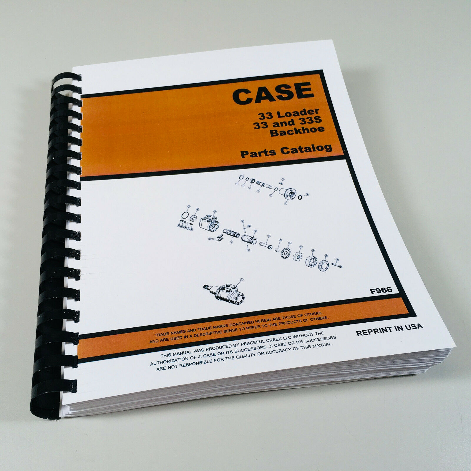 J I Case 33 33 S Backhoe 33 Loader For 580 Ck Tractor Parts Catalog Manual  B 1 of 5FREE Shipping ...