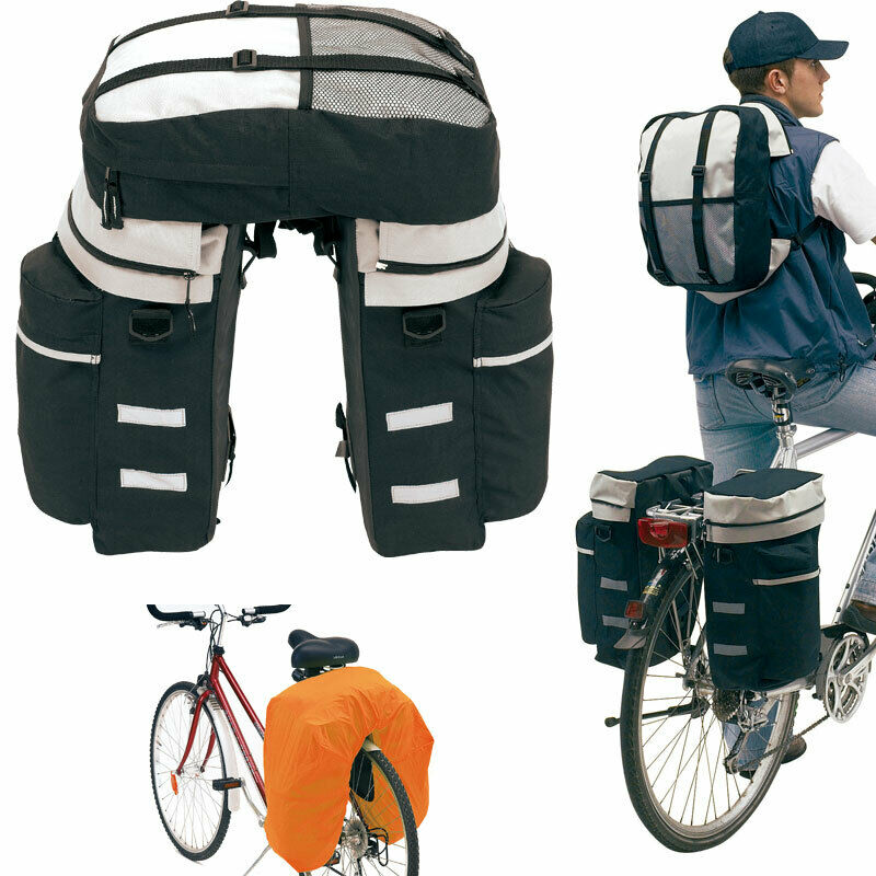 fahrrad satteltasche gep cktasche fahrradtasche rucksack gep cktr ger tasche picclick es. Black Bedroom Furniture Sets. Home Design Ideas