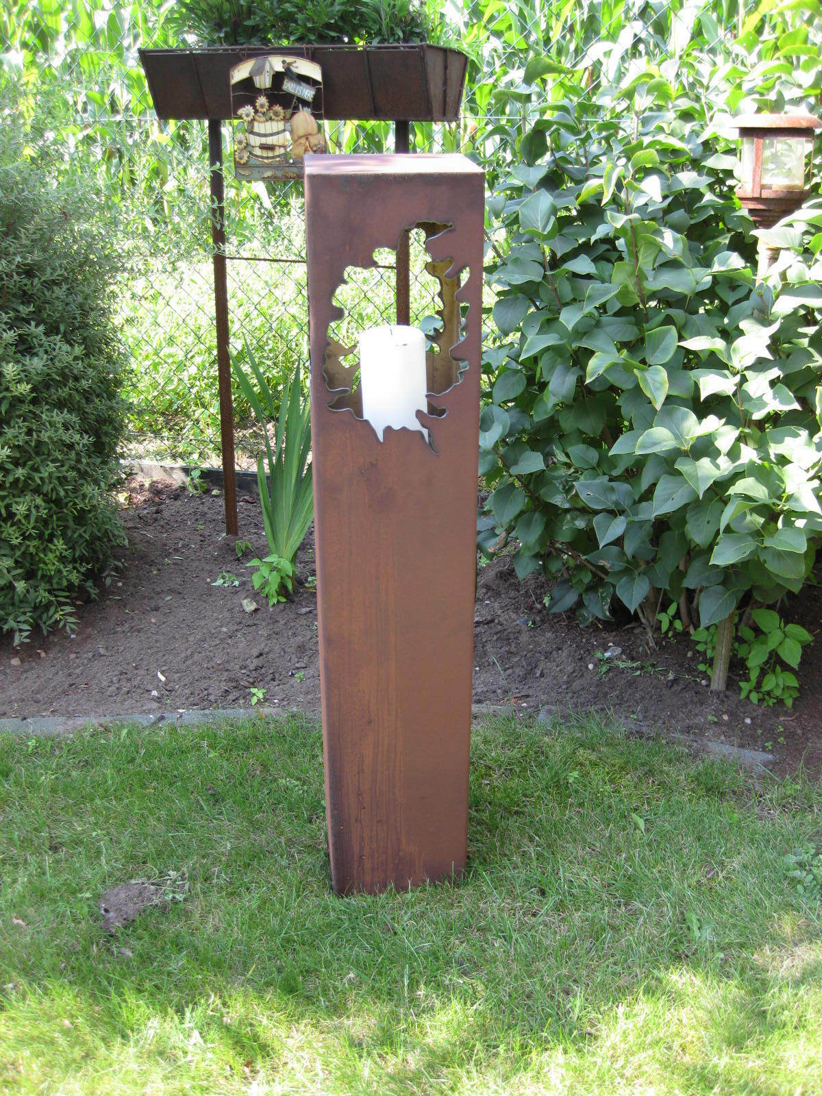 Rost s ule rs43 rosts ule rosts ulen rostdeko edelrost for Gartendeko metall
