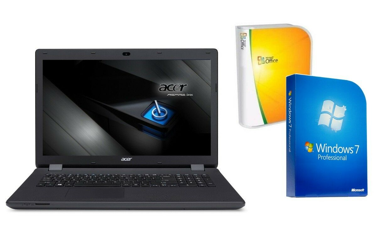 notebook acer es1 731 500gb windows 7 pro 17 3 zoll. Black Bedroom Furniture Sets. Home Design Ideas