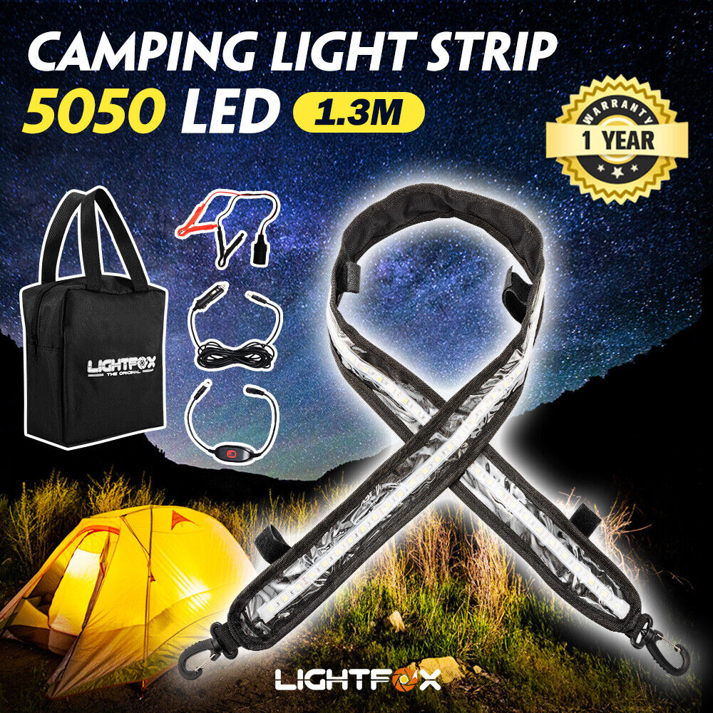 how to use 12v lights when free camping