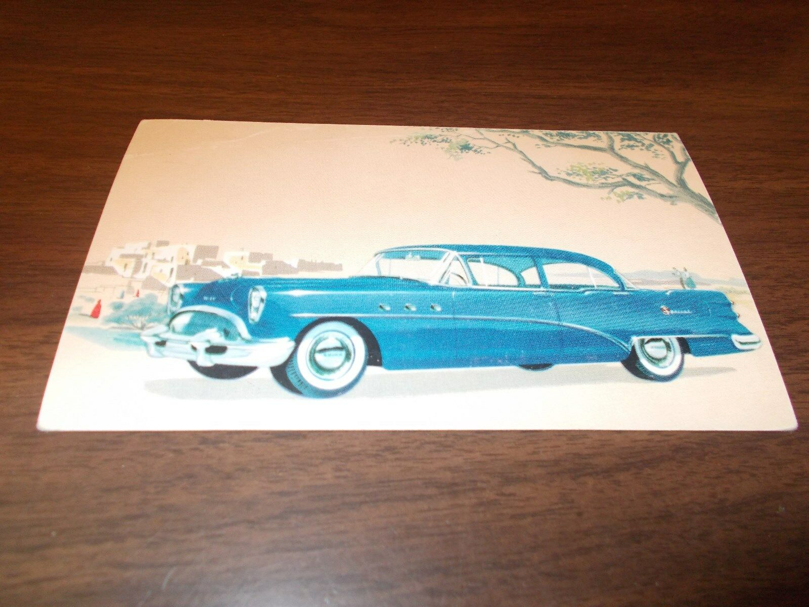 1954 Buick Special Sedan Vintage Advertising Postcard 999 Picclick Riviera Convertible 1 Of 1only Available