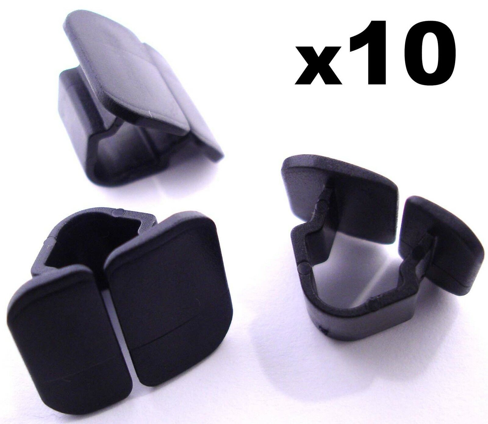 10x Vw Bonnet Insulation Plastic Clips Retainer For Hood Wiring Harness 1 Of 1free Shipping