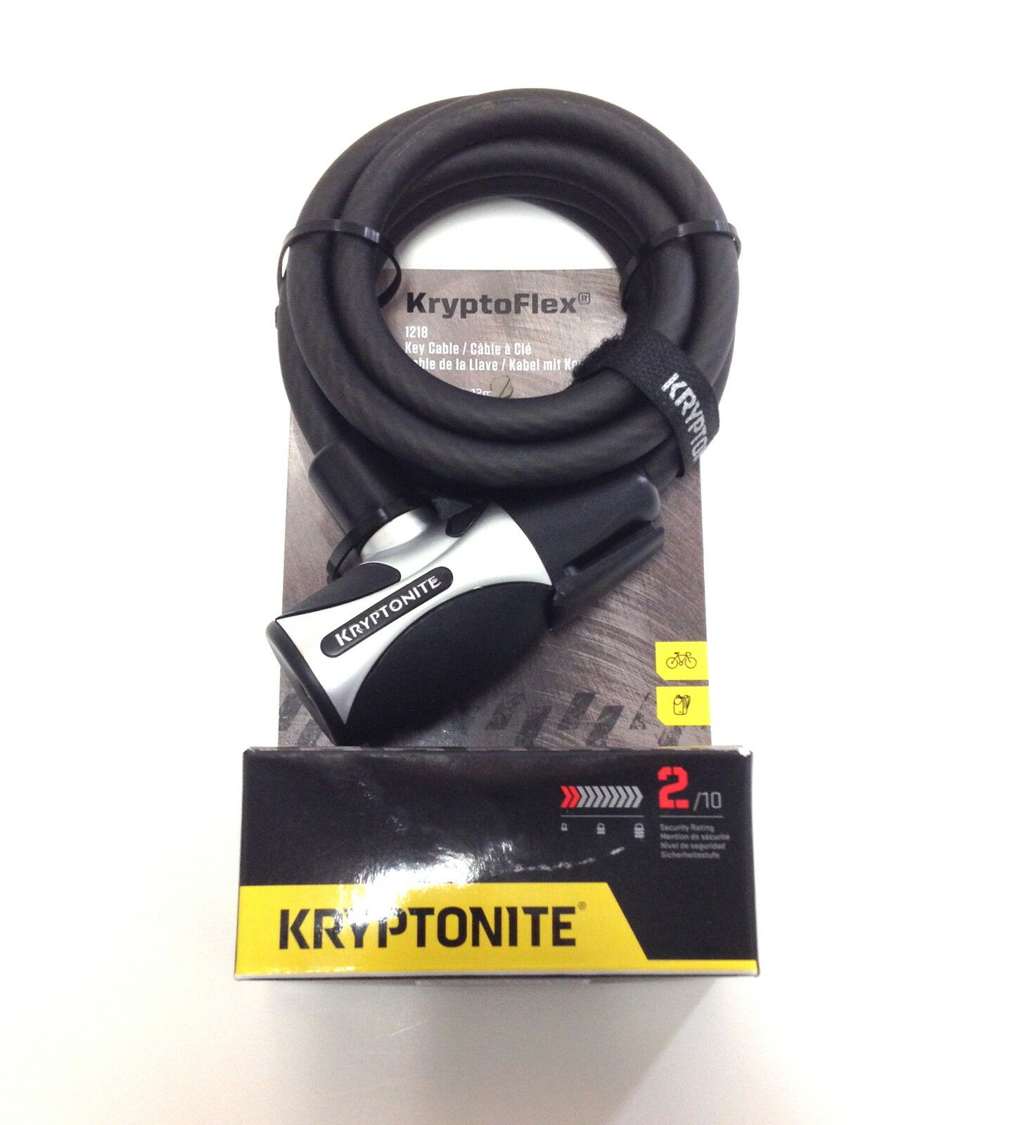 how to open a kryptonite bike lock with the key