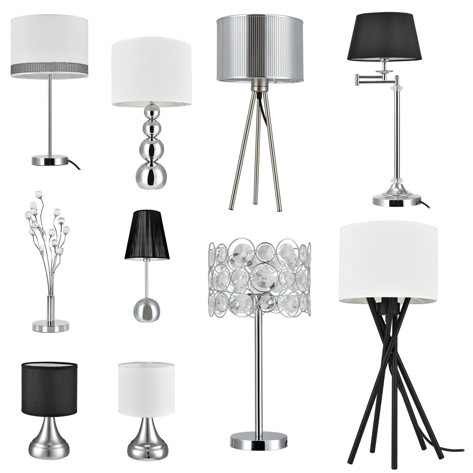 tischleuchte lampe schreibtischlampe schreibtischlampe nachttischlampe eur 12 90. Black Bedroom Furniture Sets. Home Design Ideas