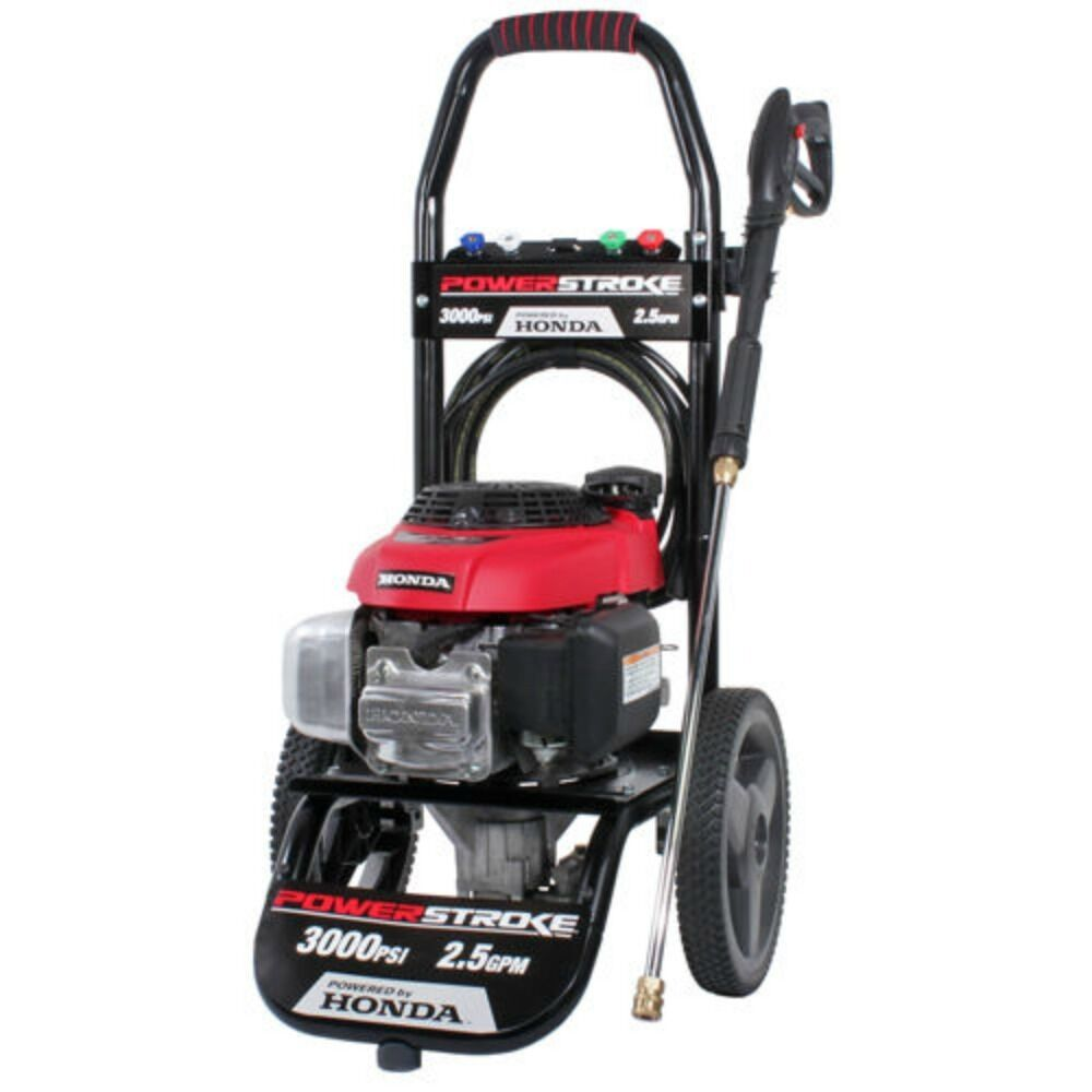 powerstroke pressure washer 3000 psi 190cc honda engine