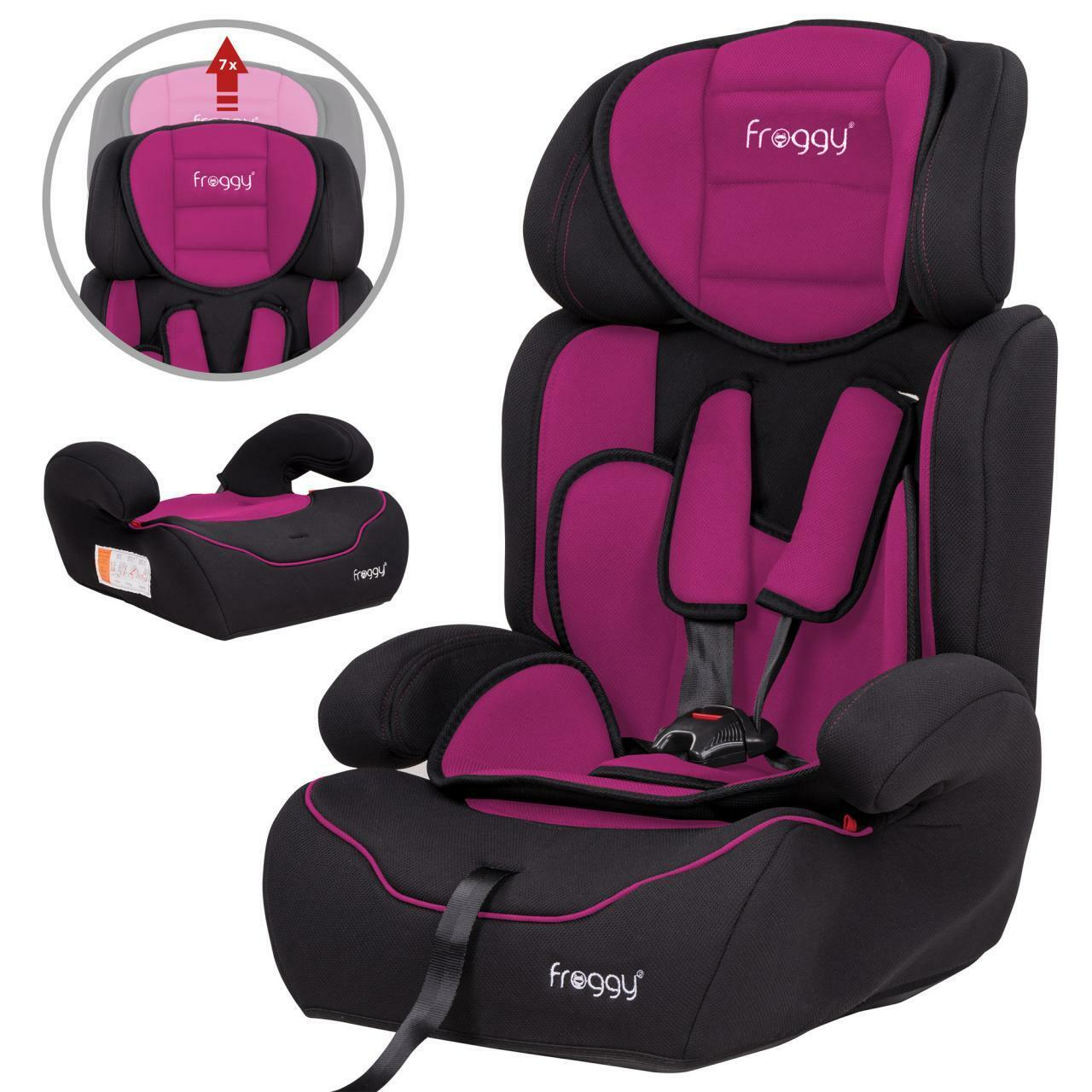 autokindersitz autositz autokindersitze kinderautositz 9 36 kg gruppe 1 2 3 pink eur 42 95. Black Bedroom Furniture Sets. Home Design Ideas