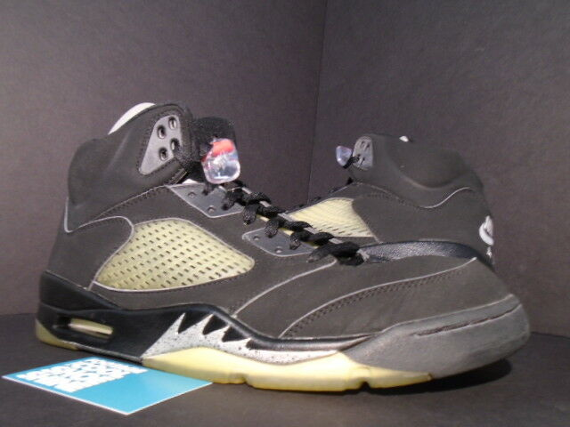 newest 68638 236b2 1999 2000 Nike Air Jordan V 5 Retro BLACK METALLIC SILVER FIRE RED WHITE 12  1 of 12Only 1 available ...