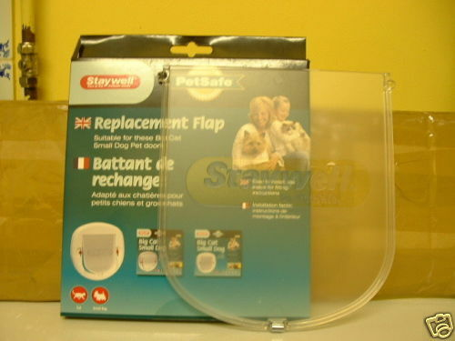 SPARE DOOR FOR PETSAFE / STAYWELL BIG CAT / SMALL DOG FLAP 200 series