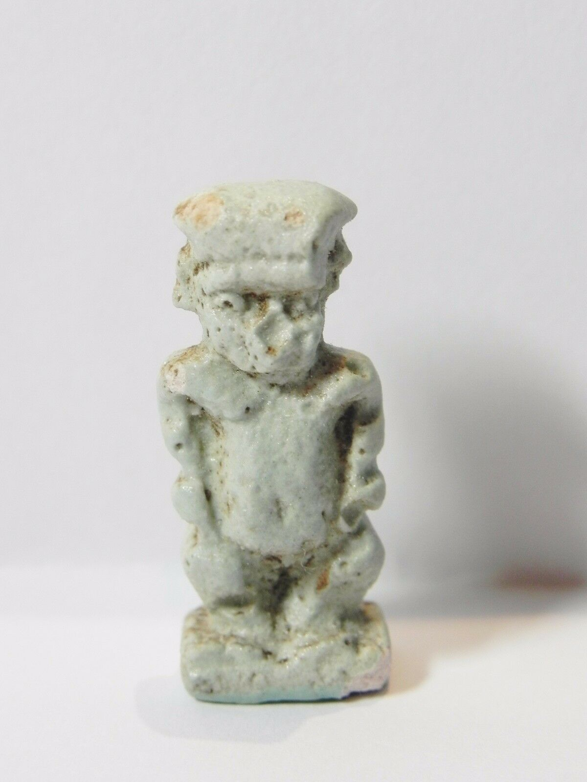 Zurqieh - Q24- Ancient Egypt. Nice Faience Amulet Of Pataikos. 600 B.c