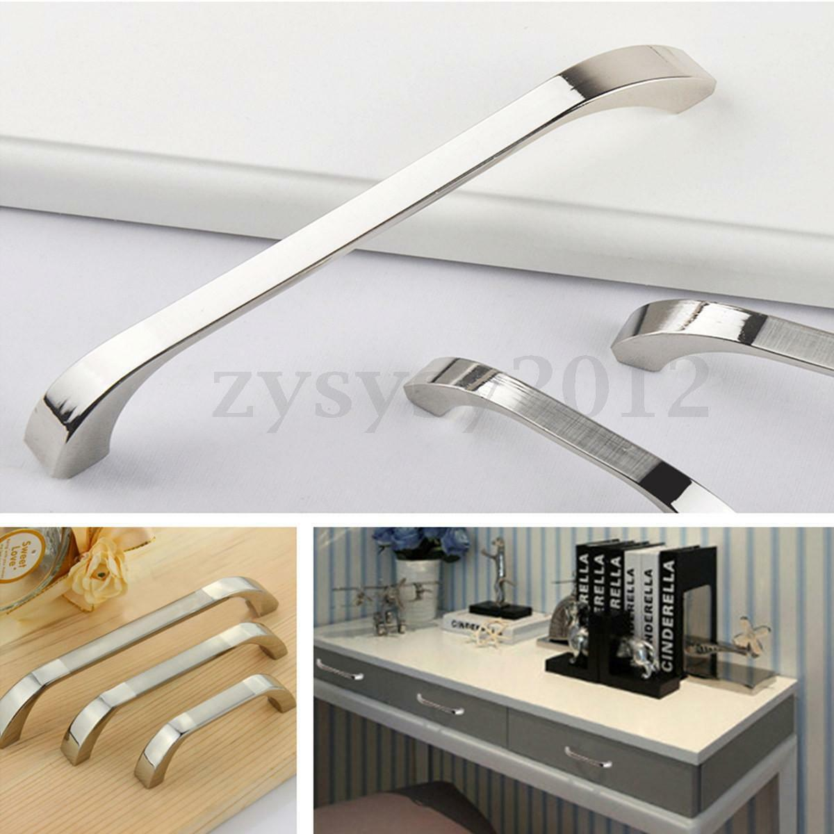 Handles For Kitchen Cabinets And Drawers: 1-8Pcs Modern Door Knob Cabinet Drawer Kitchen Cupboard