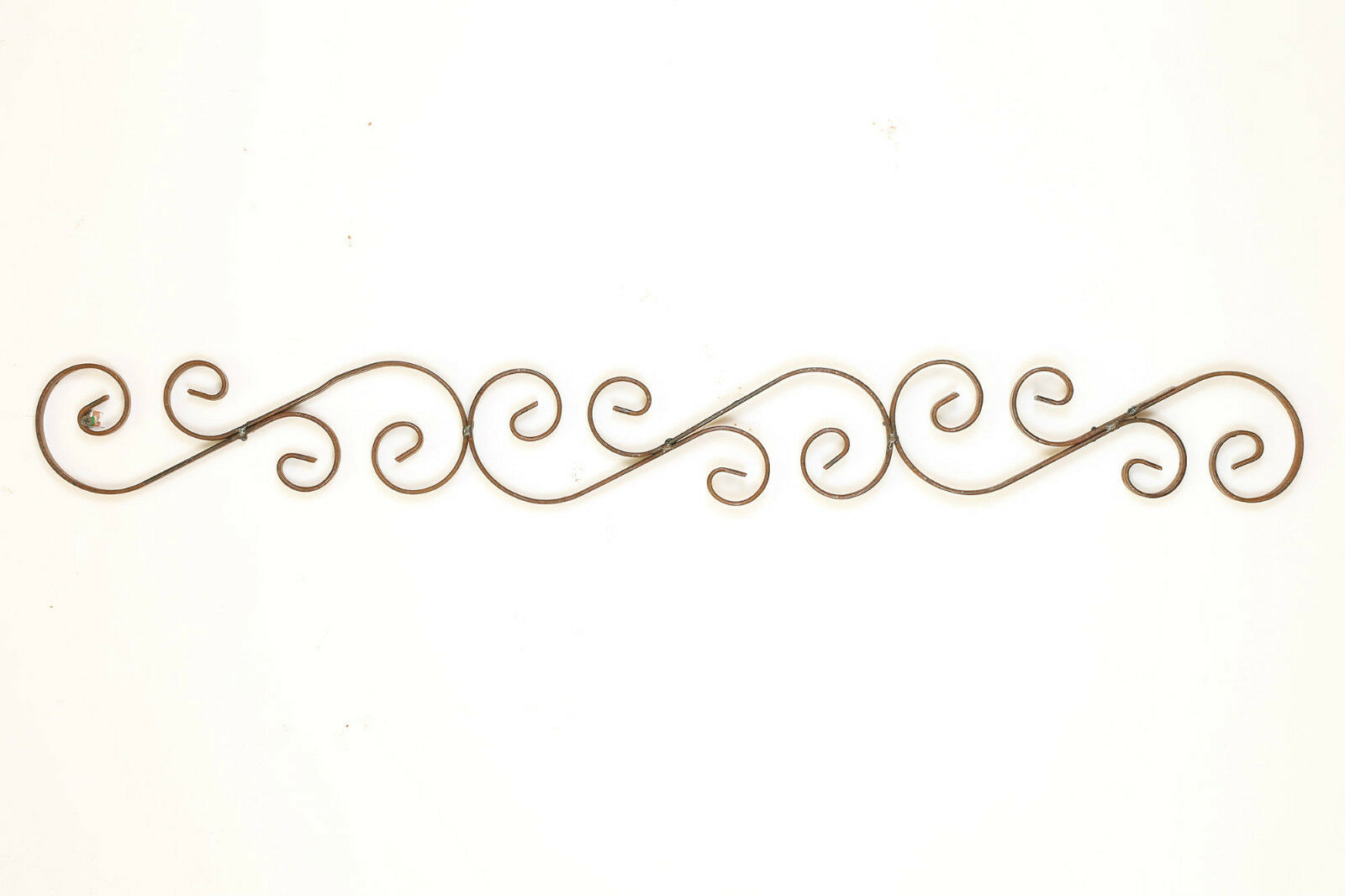 Rustic Iron Architectural Wall Art 56x7 Handmade Iron Door Topper Wrought   1 Of 1Only 4 Available See More